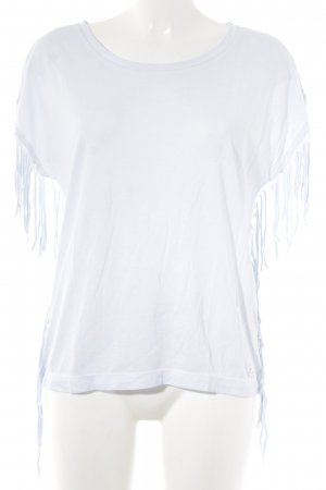 s.Oliver T-Shirt hellblau meliert Casual-Look