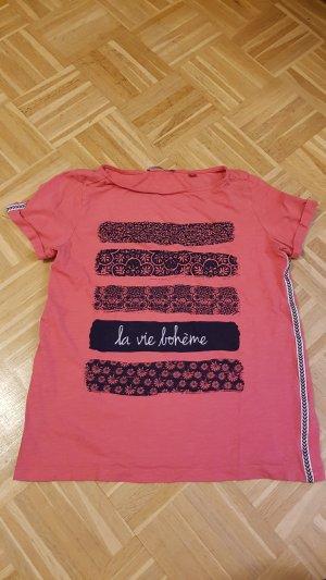 s.Oliver Camiseta salmón-azul oscuro