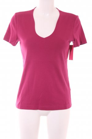 s.Oliver T-Shirt magenta Street-Fashion-Look
