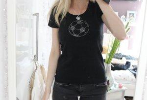S.Oliver T-Shirt mit Glitzerfußball