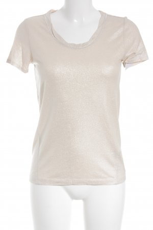 s.Oliver T-Shirt nude glittery