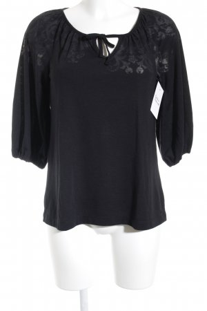 s.Oliver T-Shirt schwarz Casual-Look
