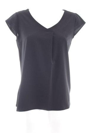 s.Oliver T-Shirt schwarz klassischer Stil