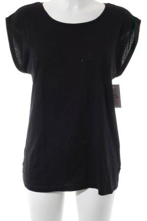 s.Oliver T-Shirt schwarz Street-Fashion-Look