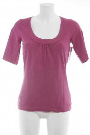 s.Oliver T-Shirt violett Casual-Look