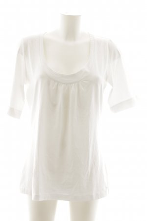 s.Oliver Camiseta blanco look casual