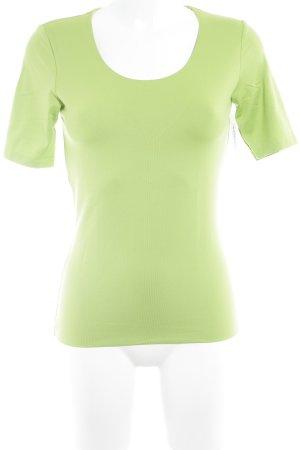 s.Oliver T-Shirt wiesengrün-hellgrün Casual-Look