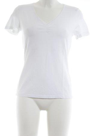 s.Oliver T-Shirt wollweiß sportlicher Stil