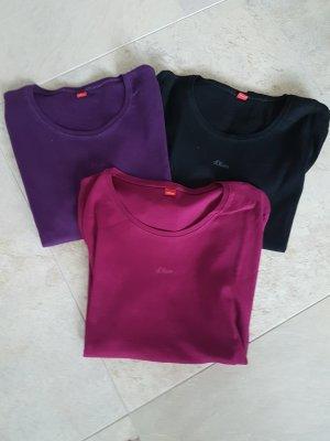 s Oliver T Shirts Gr.44....3 Stk