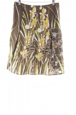 s.Oliver Circle Skirt flower pattern casual look