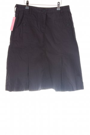 s.Oliver Circle Skirt black casual look