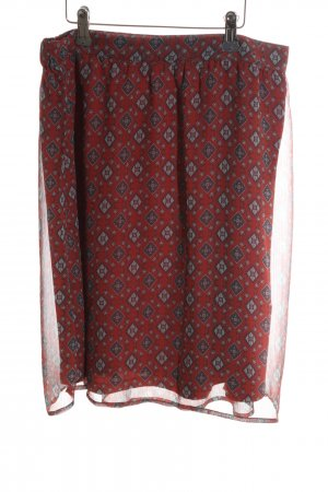 s.Oliver Circle Skirt allover print casual look