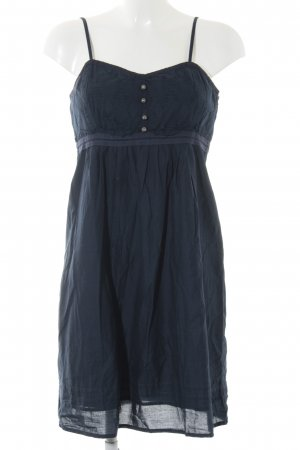 s.Oliver Pinafore dress dark blue casual look