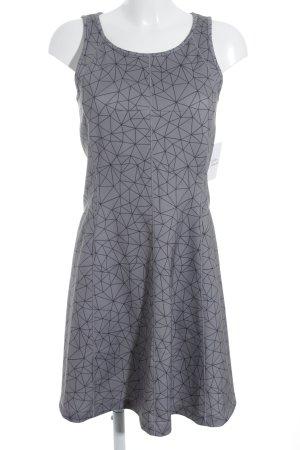 s.Oliver Trägerkleid grau-schwarz abstraktes Muster Street-Fashion-Look