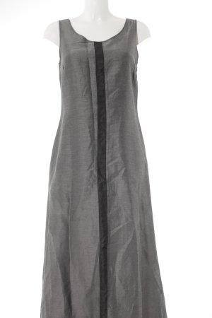 s.Oliver Trägerkleid silberfarben-dunkelgrau schlichter Stil