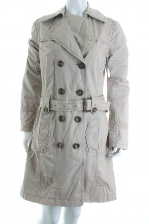 s.Oliver Trenchcoat beige Street-Fashion-Look