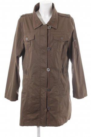 s.Oliver Trenchcoat graubraun Casual-Look