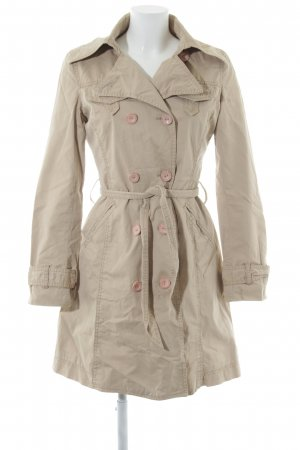 s.Oliver Trench Coat oatmeal business style