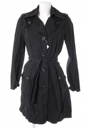 s.Oliver Trenchcoat schwarz Business-Look