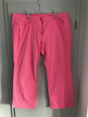 S.Oliver Triangle Hose Gr.54 Plus Size pink bootcut
