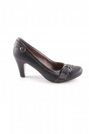 s.Oliver Loafers black casual look