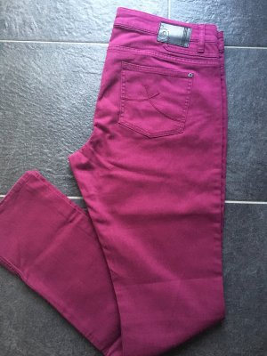s.Oliver Boot Cut spijkerbroek paars-magenta