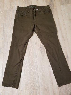 s.Oliver Tube Jeans in dunkelgrün, Größe 44, Länge 30