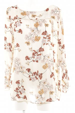 s.Oliver Tunikabluse florales Muster Casual-Look