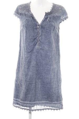 s.Oliver Vestido tipo túnica azul look casual