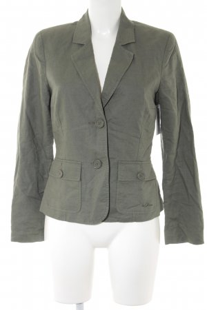 s.Oliver Tweedblazer khaki Casual-Look