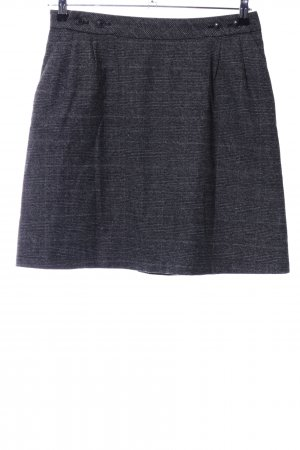 s.Oliver Tweed Skirt light grey check pattern business style