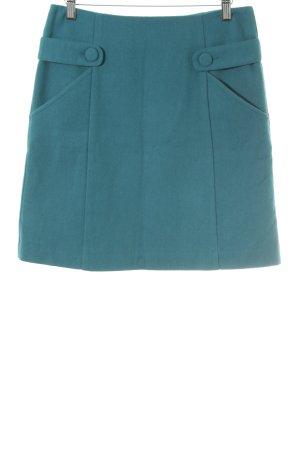 s.Oliver Tweed rok cadet blauw elegant