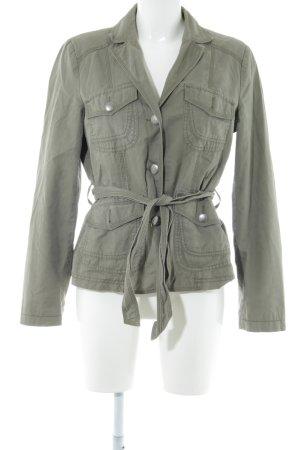 s.Oliver Übergangsjacke khaki-grün Casual-Look