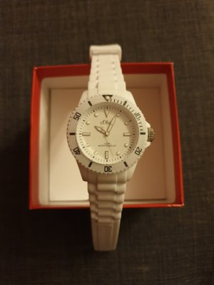 s.Oliver Analog Watch white