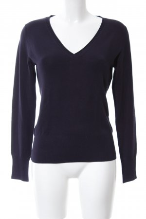 s.Oliver V-Neck Sweater black casual look