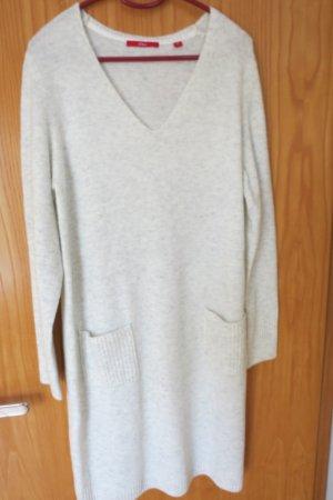 s.Oliver V-Neck-Kleid aus softem Feinstrick, Gr. 40