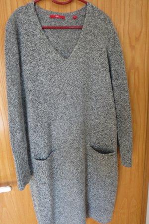 s.Oliver V-Neck-Kleid aus softes Strickkleid, Gr. 40