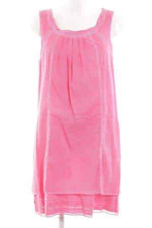 s.Oliver Vestido estilo flounce rosa look casual