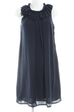 s.Oliver Volante jurk donkerblauw elegant
