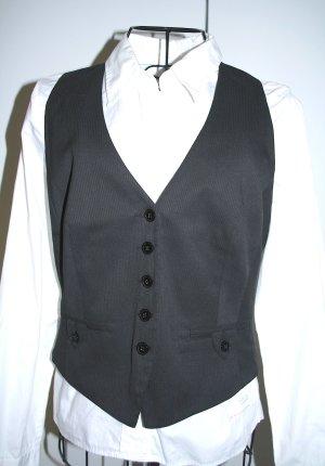 s.Oliver Waistcoat black