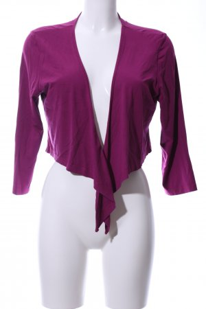 s.Oliver Wraparound Jacket lilac casual look