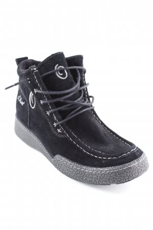 s.Oliver Winter-Stiefeletten schwarz Casual-Look