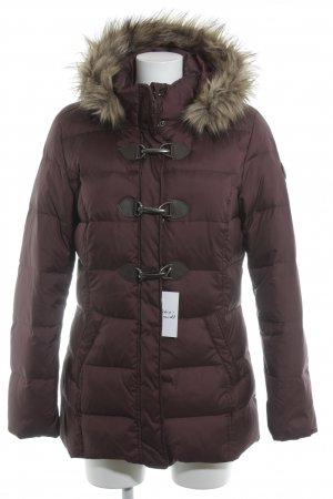 s.Oliver Winterjacke bordeauxrot Casual-Look
