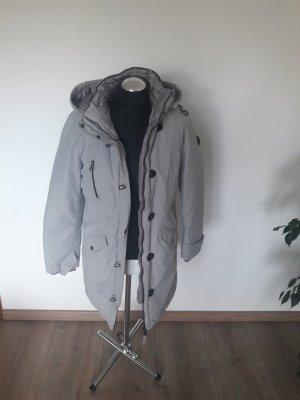 s. oliver wintermantel hellgrau gr. m