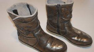 Fashion hero for s.Oliver Bottes de neige orange clair-brun sable faux cuir