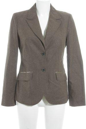 s.Oliver Blazer de lana marrón estilo «business»