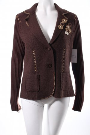 s.Oliver Wool Blazer brown country style
