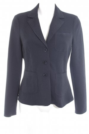 s.Oliver Wool Blazer dark blue-black spot pattern business style
