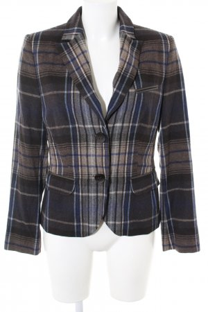 s.Oliver Wool Blazer check pattern business style