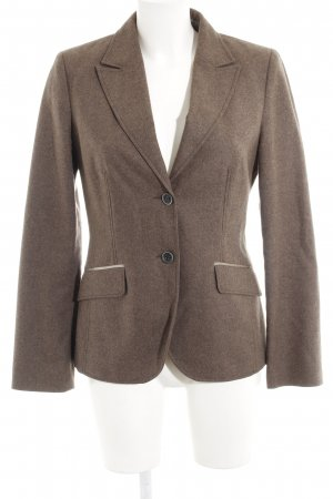 s.Oliver Wool Blazer light brown flecked business style